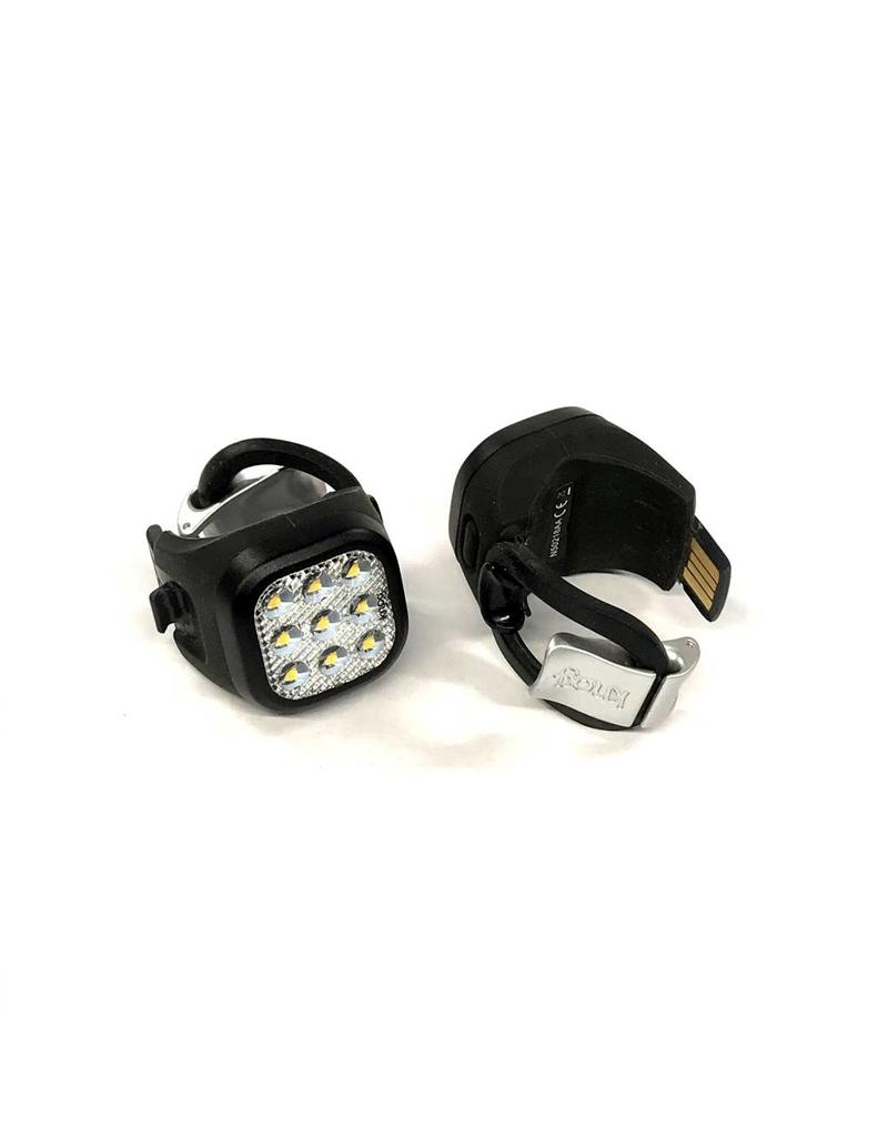 Knog Blinder Mini Niner Twinpack Black