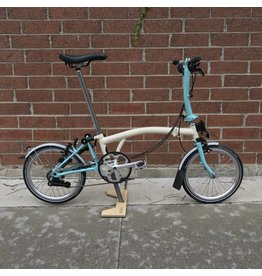 Brompton Brompton S6L Ivory / Turkish Green