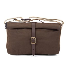 Brompton Brompton Roll Top Bag Waxed Canvas Khaki
