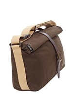 Brompton Brompton Roll Top Bag includes cover and frame Waxed Canvas Khaki
