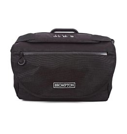 Brompton Brompton S Bag Black with Black flap