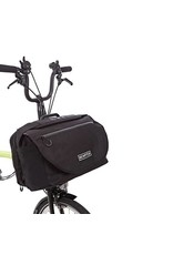 Brompton Brompton S Bag includes cover and frame Black with Black flap