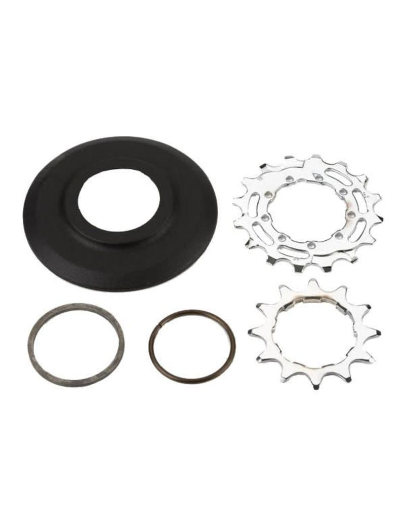 Brompton Brompton Sprocket set 12T 16T for 3 32nd inch 9 spline for 2 speed