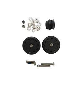 Brompton Brompton Eazy Wheel rollers with fittings - 6mm holes (Pair)