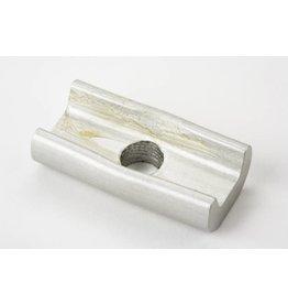 Brompton Hinge clamp plate Silver