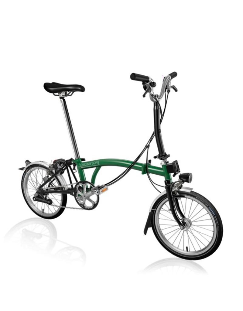 Brompton Brompton M6L Racing Green / Black