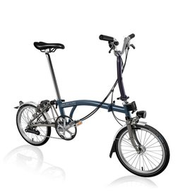 Brompton Brompton M6L Tempest Blue Superlight