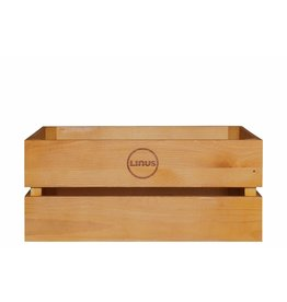 Linus Wood Crate Oak