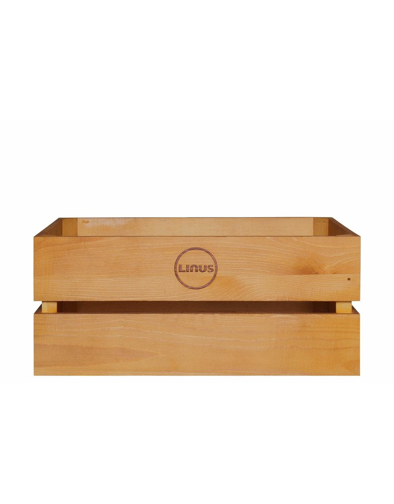 Linus Wood Crate Oak