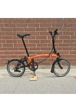 Brompton Brompton H6L Orange / Black (Black Edition)