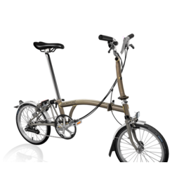 Brompton Brompton M6L Ti Raw Lacquer Superlight