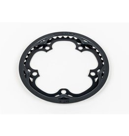 Brompton Chainring and guard Black for spider Type crankset 44T