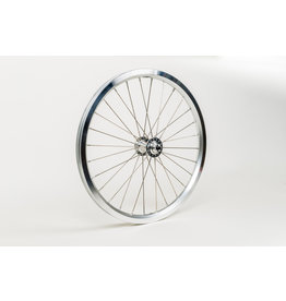 Brompton Brompton front wheel radial lacing includes fittings for Superlight bikes Silver