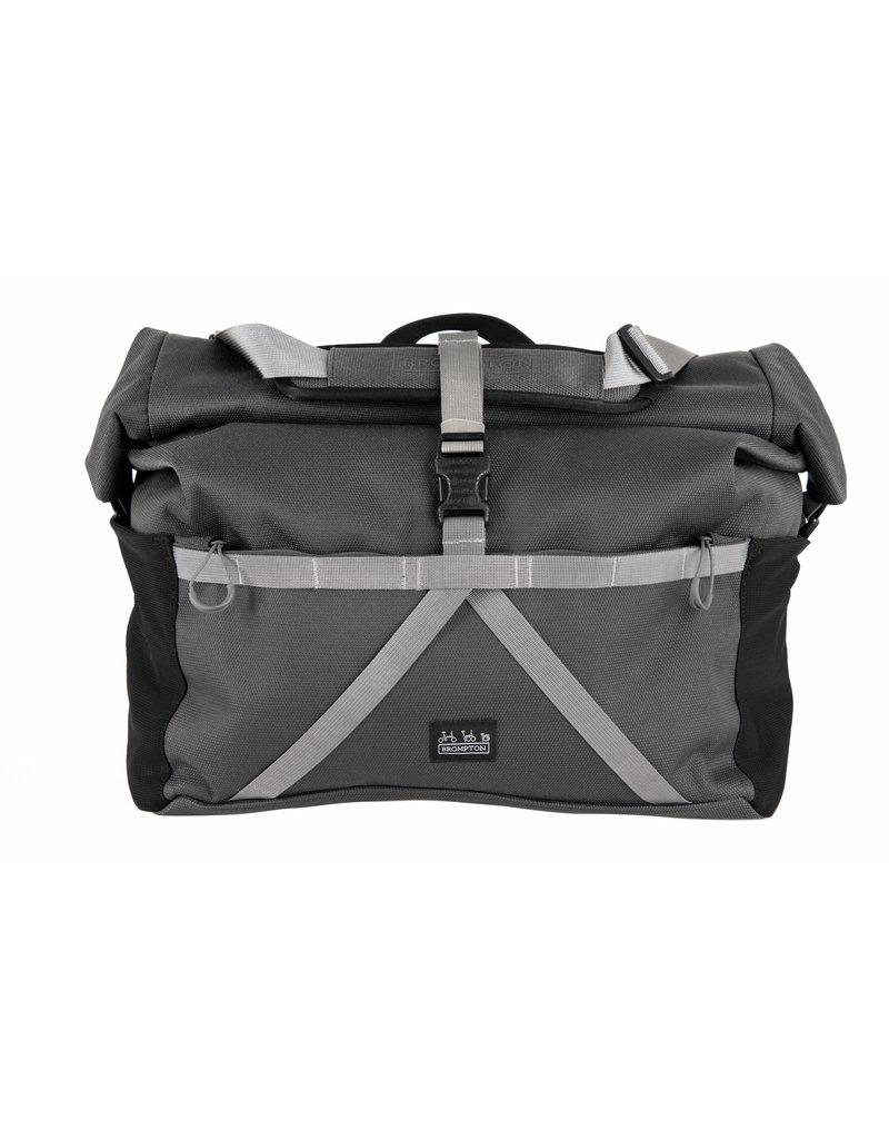 Brompton Brompton Borough L Bag includes cover and frame Dark Grey