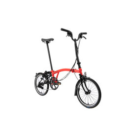 Brompton Brompton H6L Rocket Red / Black (Black Edition)