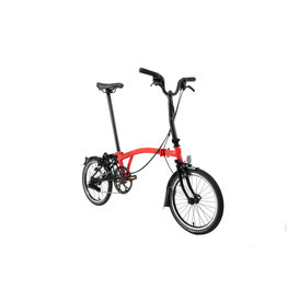 Brompton Brompton M6L Rocket Red / Black (Black Edition)