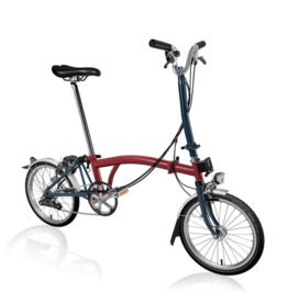 Brompton Brompton H6L House Red / Tempest Blue