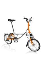 Brompton Brompton M6L Papyrus White / Orange