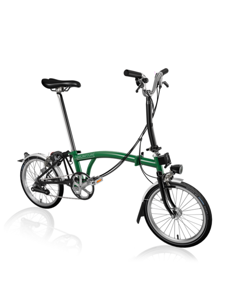 Brompton Brompton H6L Racing Green / Black
