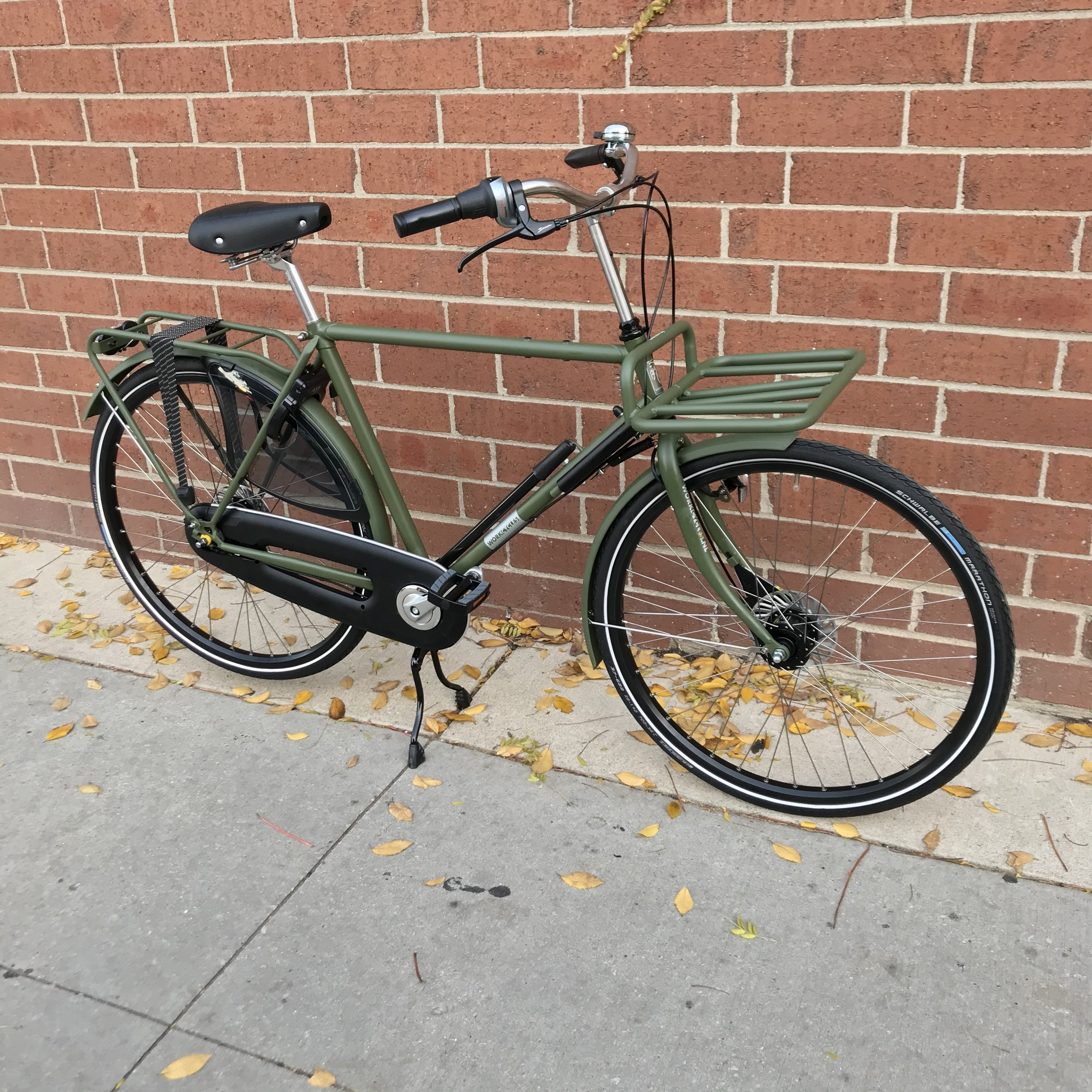 Workcycles Secret Service Step Over Matte Olive Green