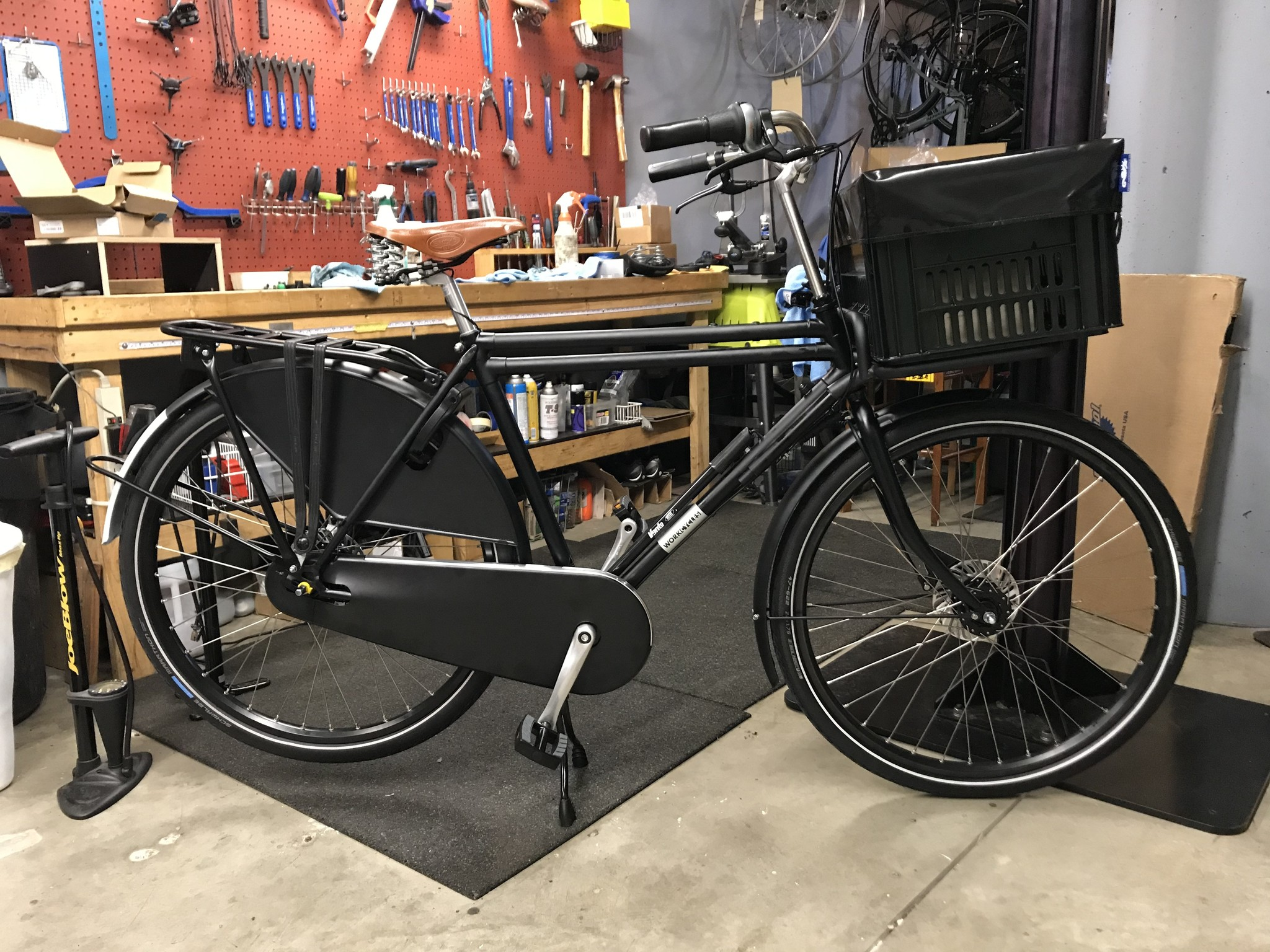 Workcycles 2-Tube Transport Matte Black