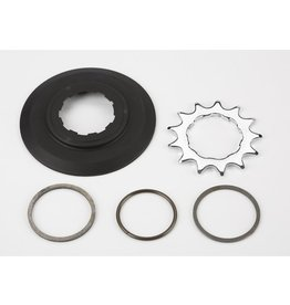Brompton Brompton Sprocket set incl chain guide disc 3/32' 9-spline - 13T (BWR as a 3-spd)