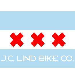 Chicagodam Flag Sticker