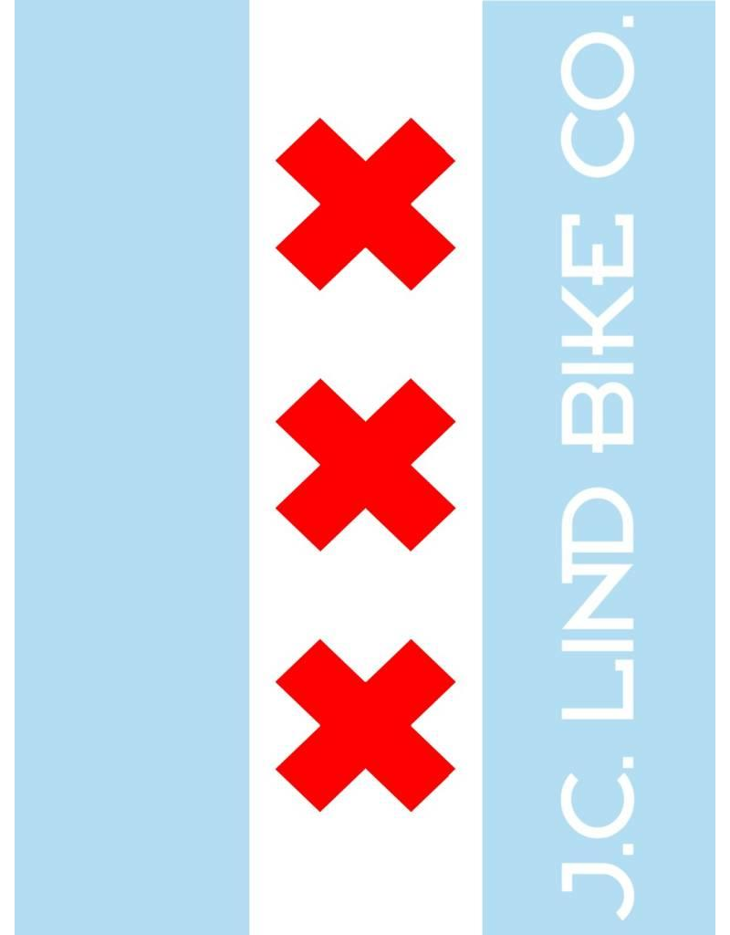 Chicagodam Flag Sticker