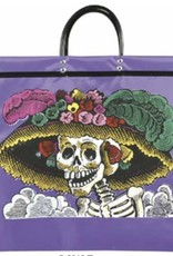 DAY OF THE DEAD CATRINA SHOPPING BAG