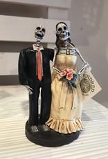 SKELETON WEDDING COUPLE