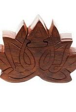 Lotus Puzzle Box