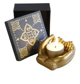 Mudra Candle Holder