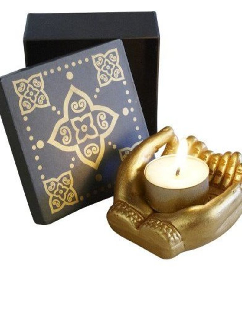 Mudra Candle Holder