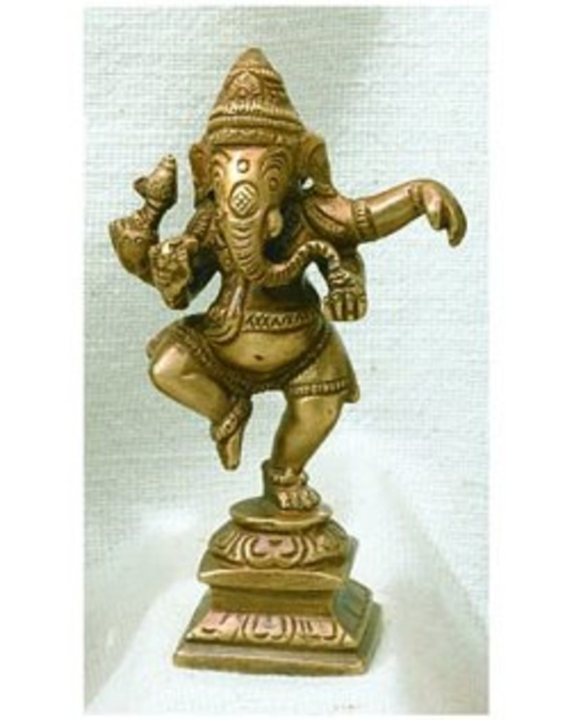 Dancing Ganesh Statue (Small)