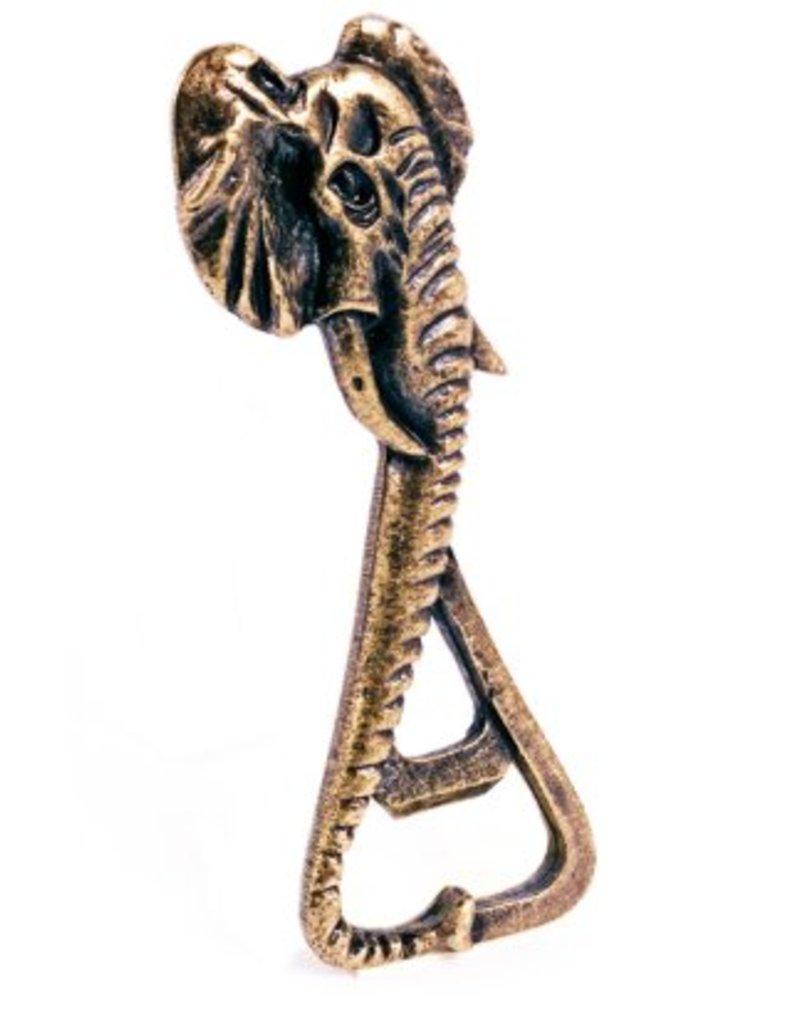 Elephant Bottle Opener Brass