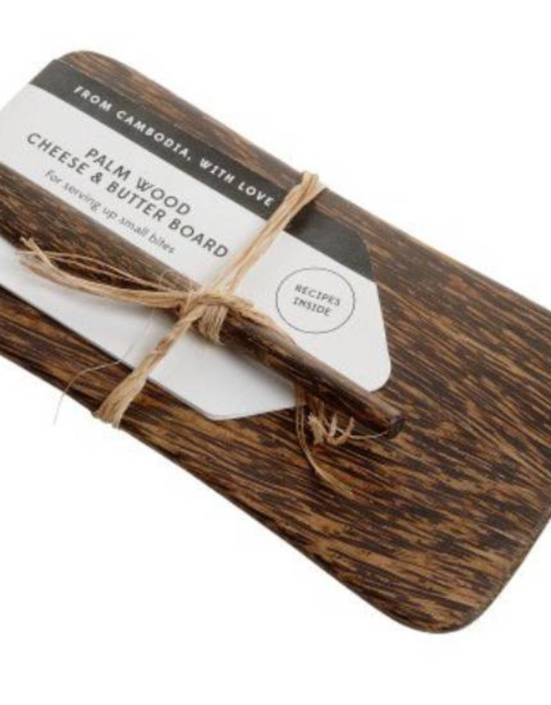 Appetizer Board Palm Wood