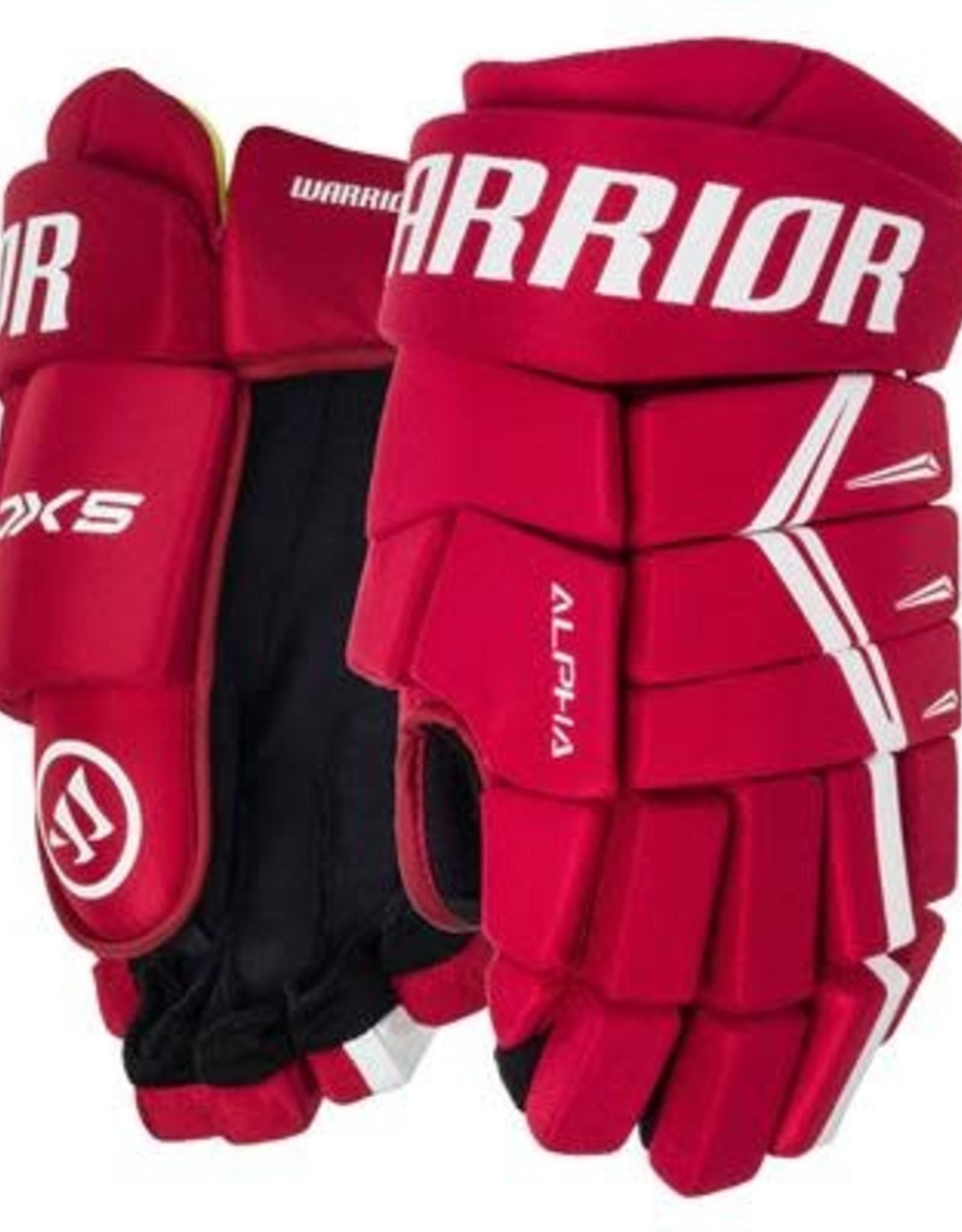 DX5 Senior Glove RDW RD/WHITE 13