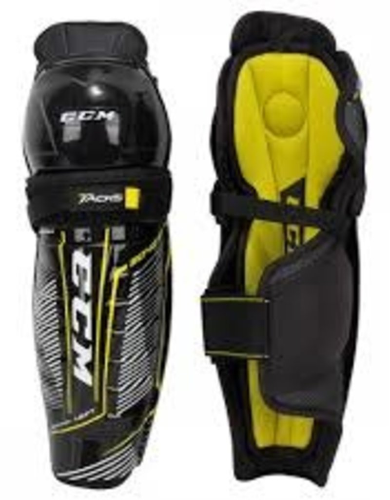 CCM SG9040 JR Tacks Shin Guards