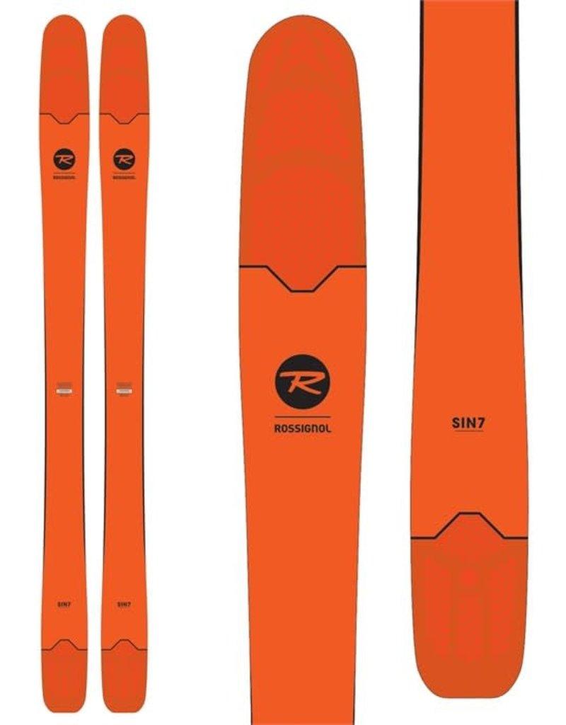 Rossignol Ski Sin7 (180cm) Orange -Sans Fixation