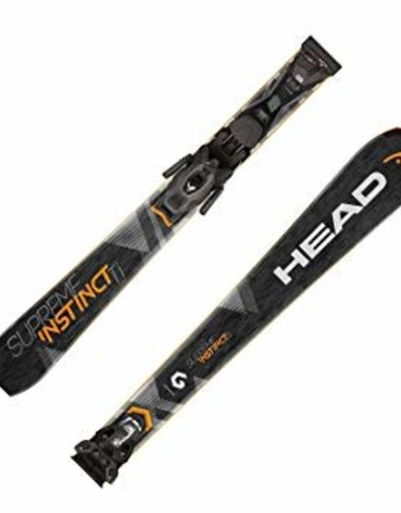 Head Ski head supreme instinct ti 163cm orange