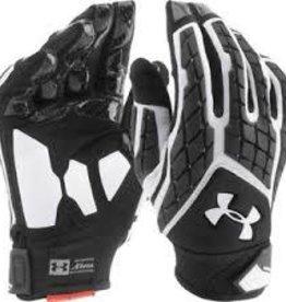 Under Armour Combat gants football (S) noir