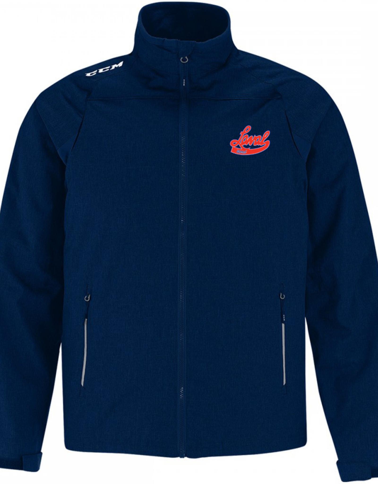 Manteau CCM Premium J5590 (SR) avec Logo LN brodé -marine