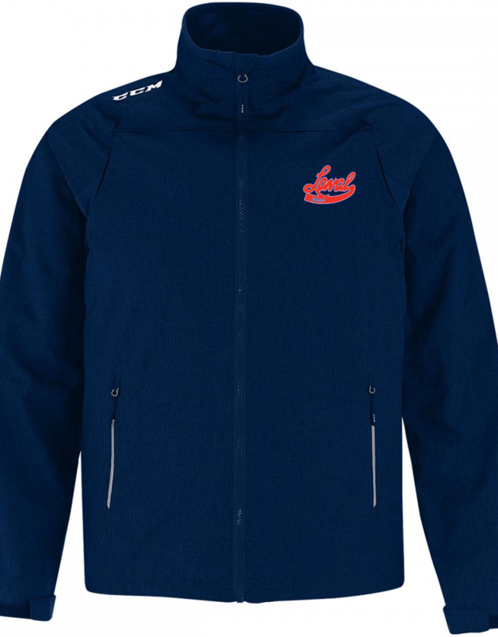 Manteau CCM Premium J5590 (SR) avec Logo LN brodé -marine (XS)