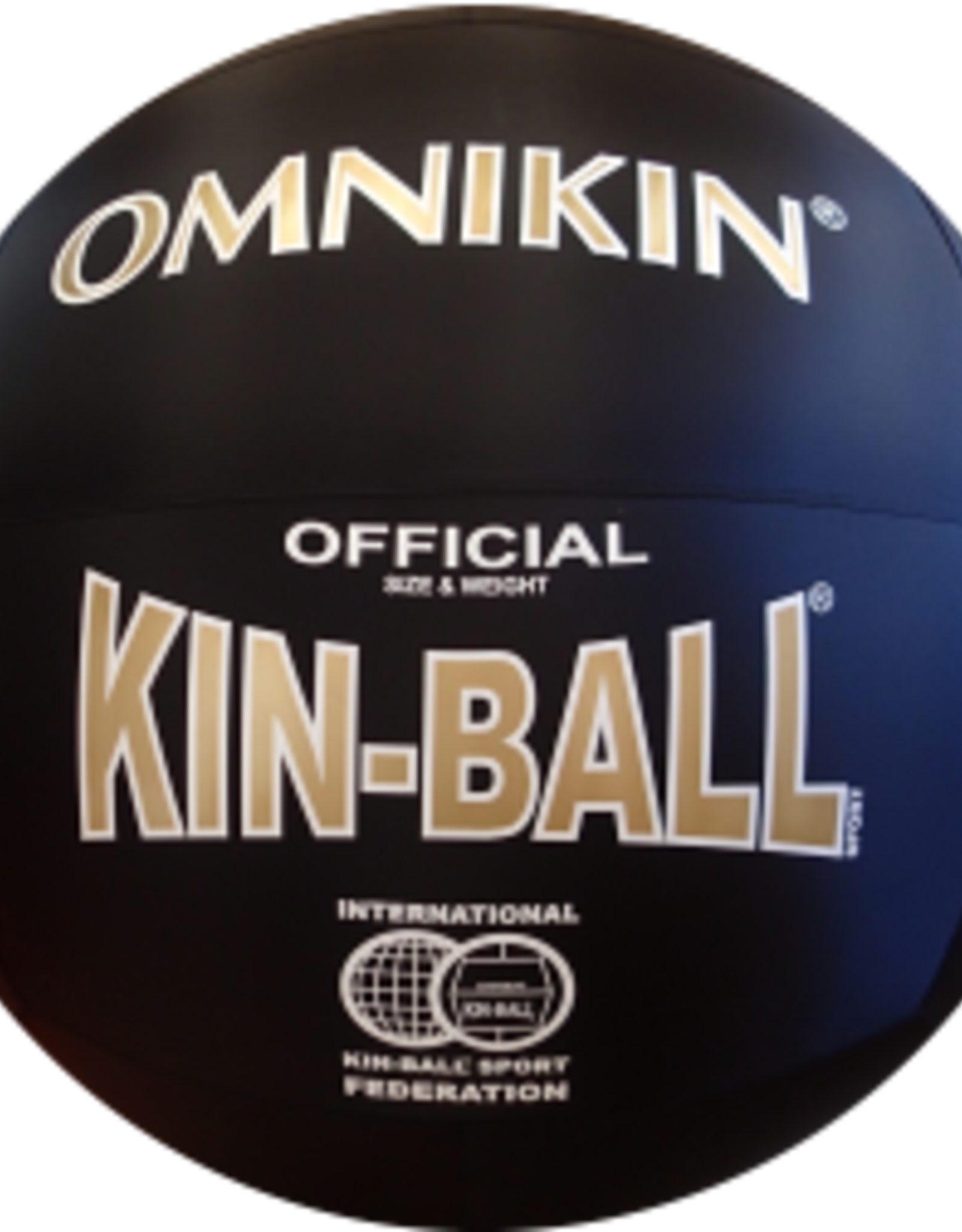 Ballon Officiel Kinball 40'' noir 30171-007