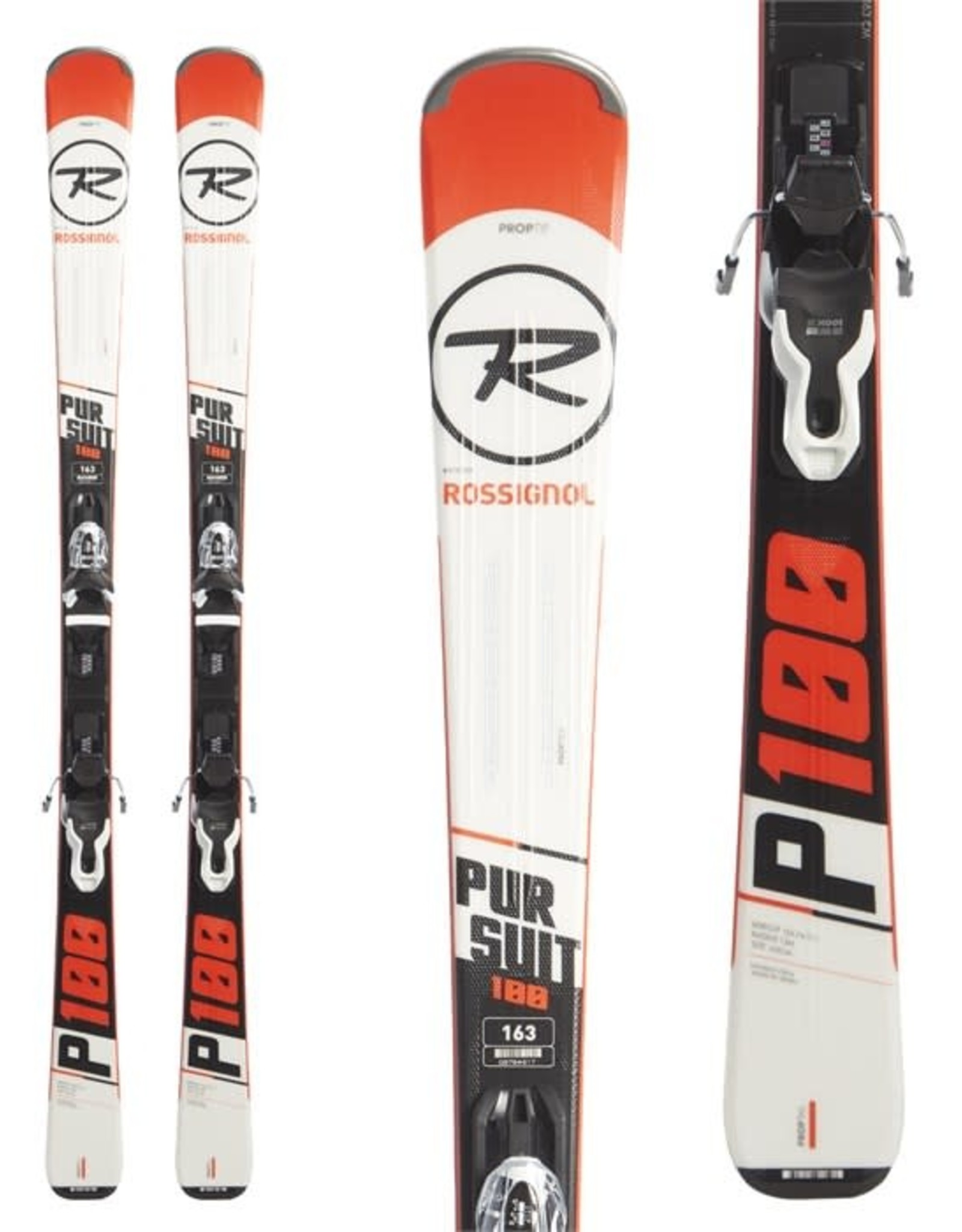 Rossignol Pursuit100 (163cm) Wht/Red-FCGD014