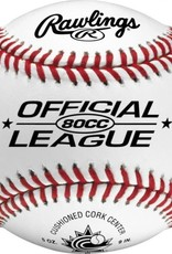 Rawlings 80CC OFFICIAL LEAGUE BASEBALL
