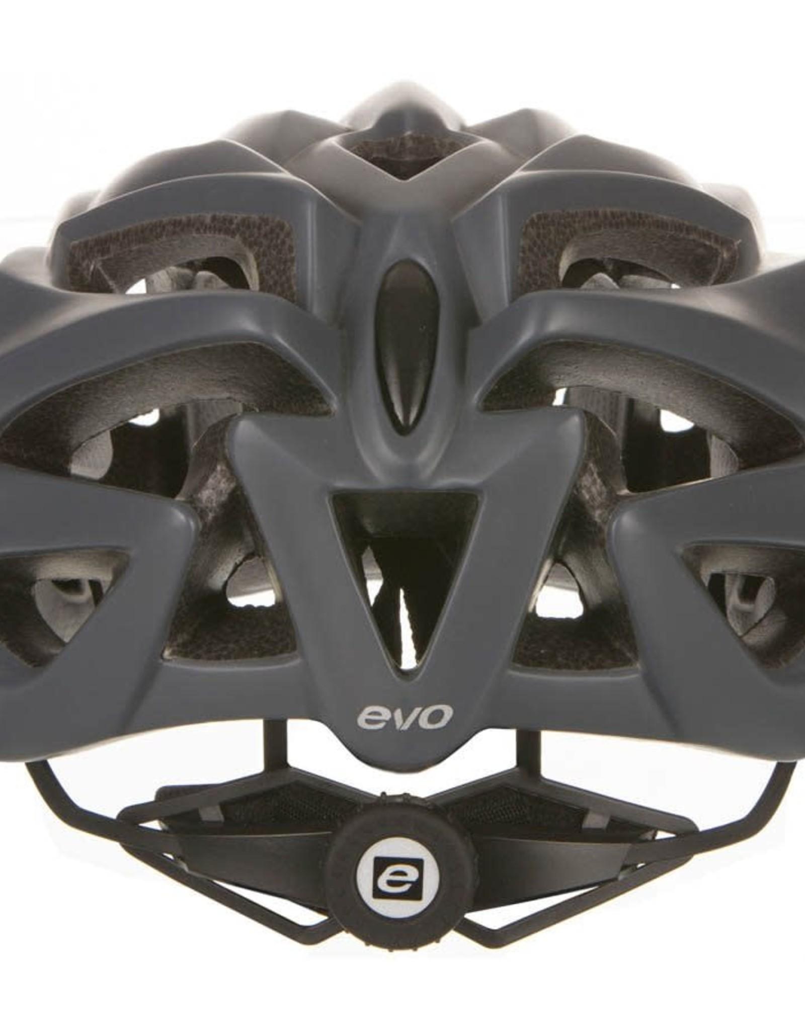 EVO EVO, Draff, Casque, Gris/Noir, LXL, 55 - 61cm