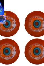 Easy People Longboard Roues Orange Speed Cruiser Solide Qt(4) avec Bearing 85