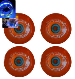 Easy People Longboard Roues Orange Speed Cruiser Solide Qt(4) avec Bearing 85