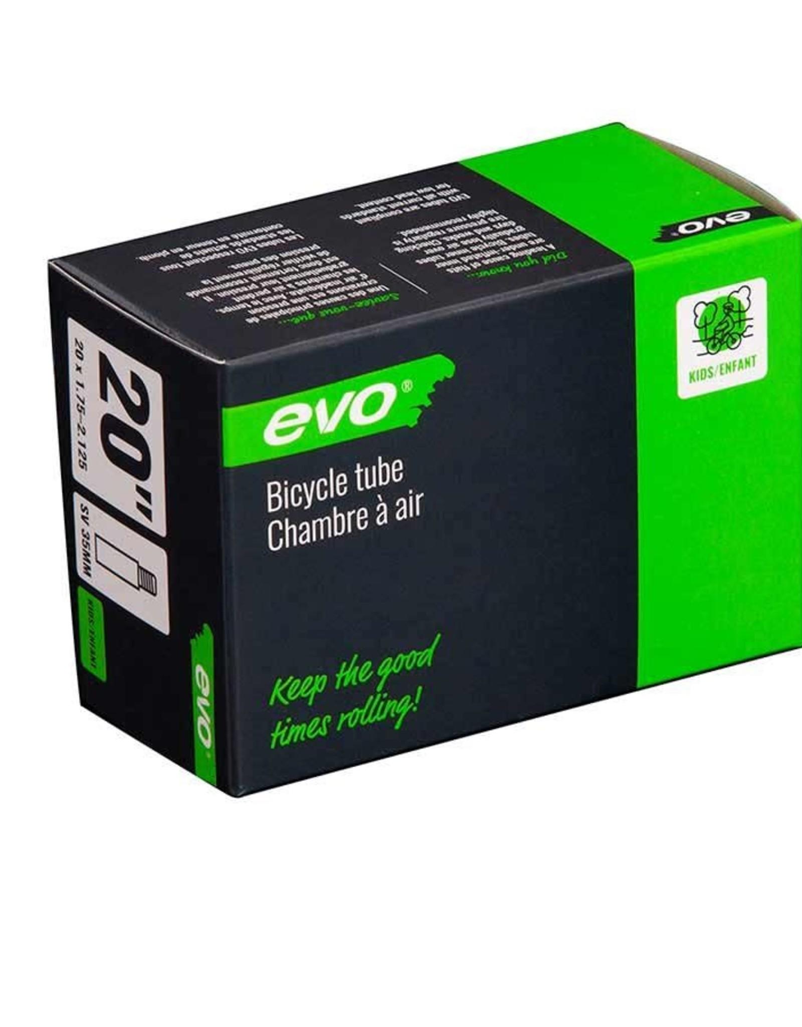 EVO EVO, SV, Chambre a air, Schrader, Longueur: 35mm, 20'', 1.75-2.125
